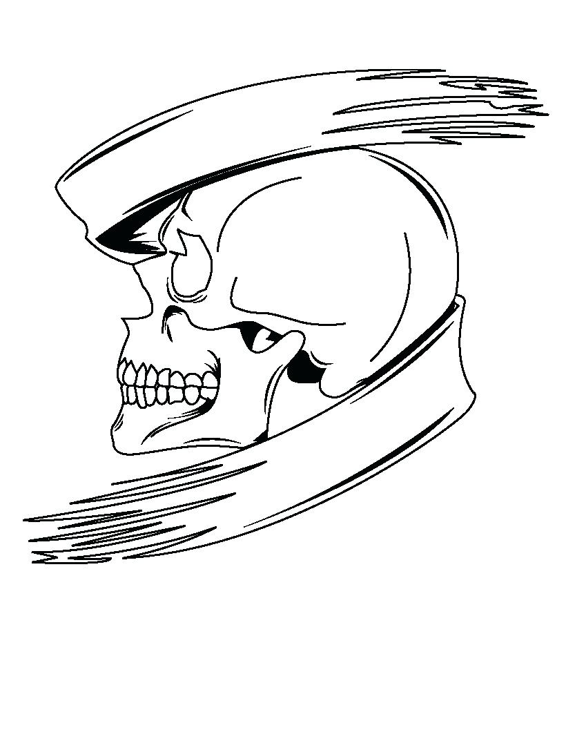 820x1060 Unbelievable Halloween Skull Coloring Pages Printable Body