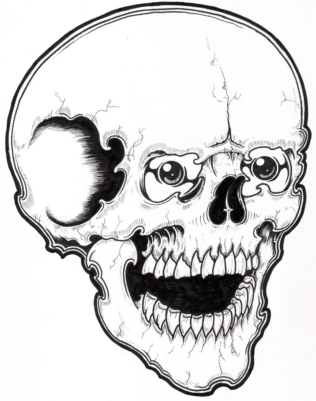1259x1600 Best Of Free Printable Skull Coloring Pages For Kids