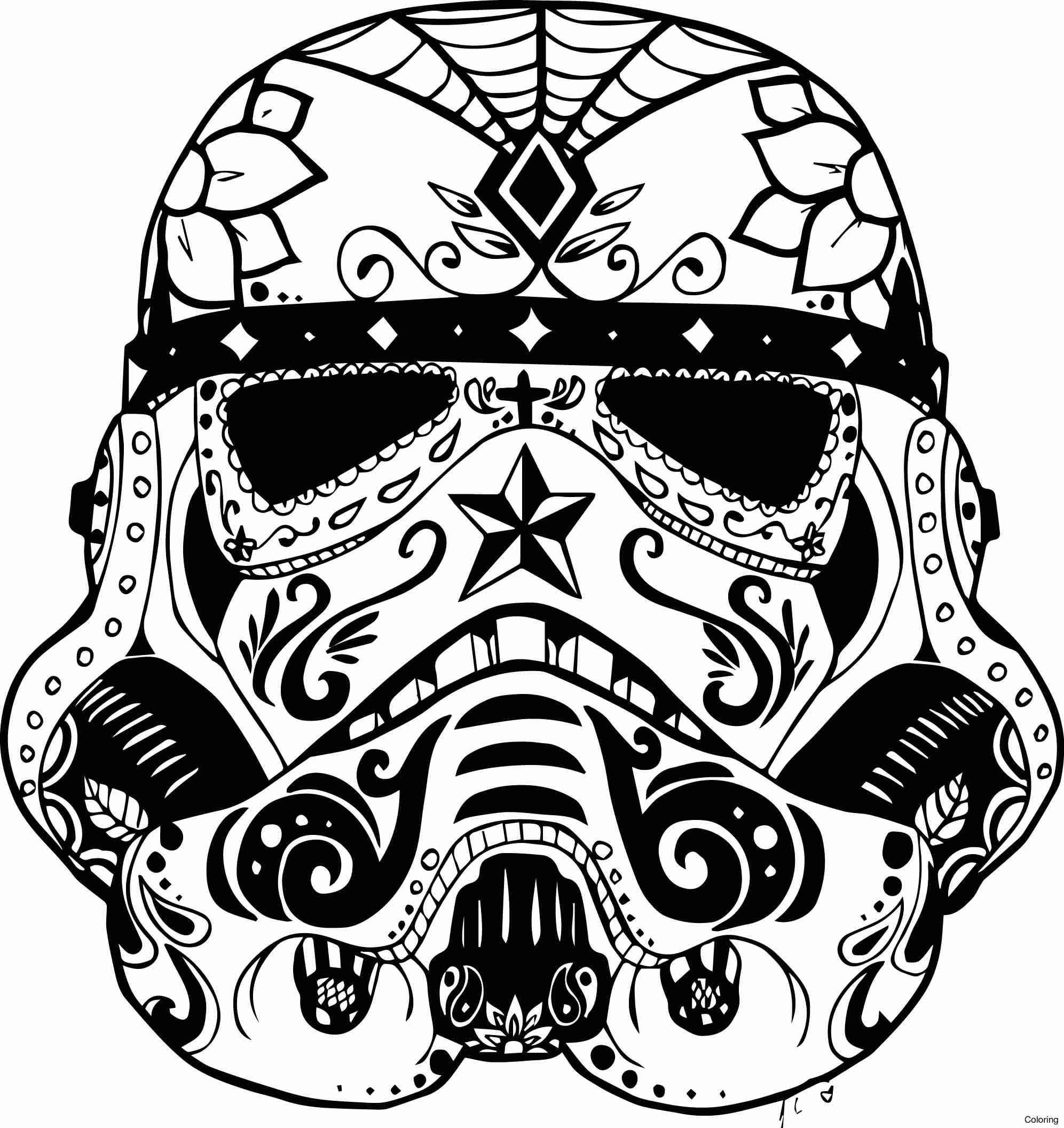 1993x2113 Coloring Page Sugar Skull Color Halloween Pages Free Book Pdf