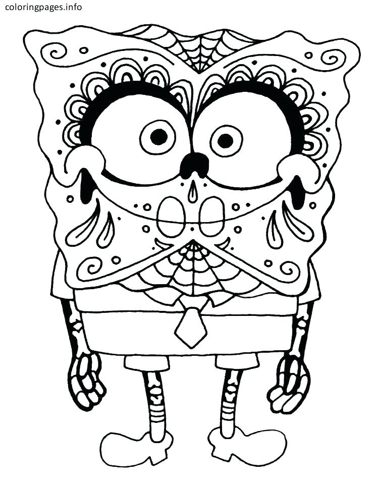 749x965 Coloring Pages Skull Sugar Skull Color Pages Sugar Skull Coloring