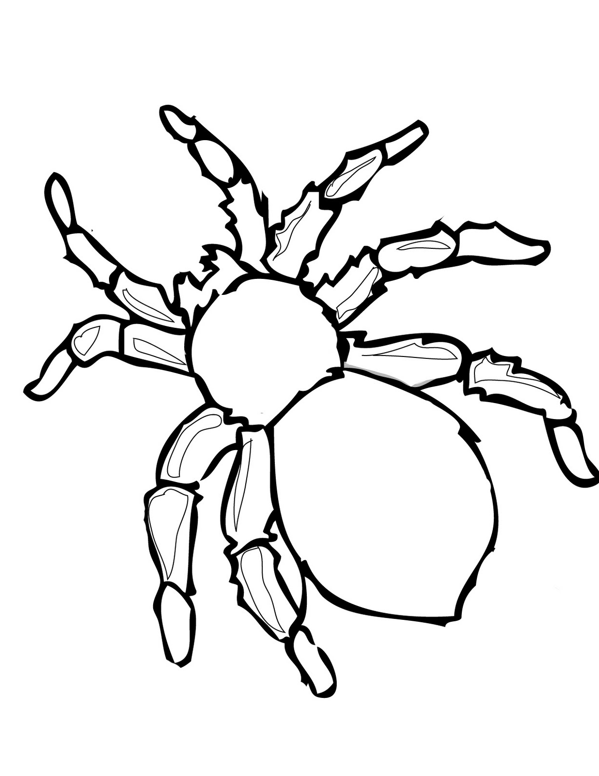 Halloween Spider Coloring Pages At Getdrawings Com Free For
