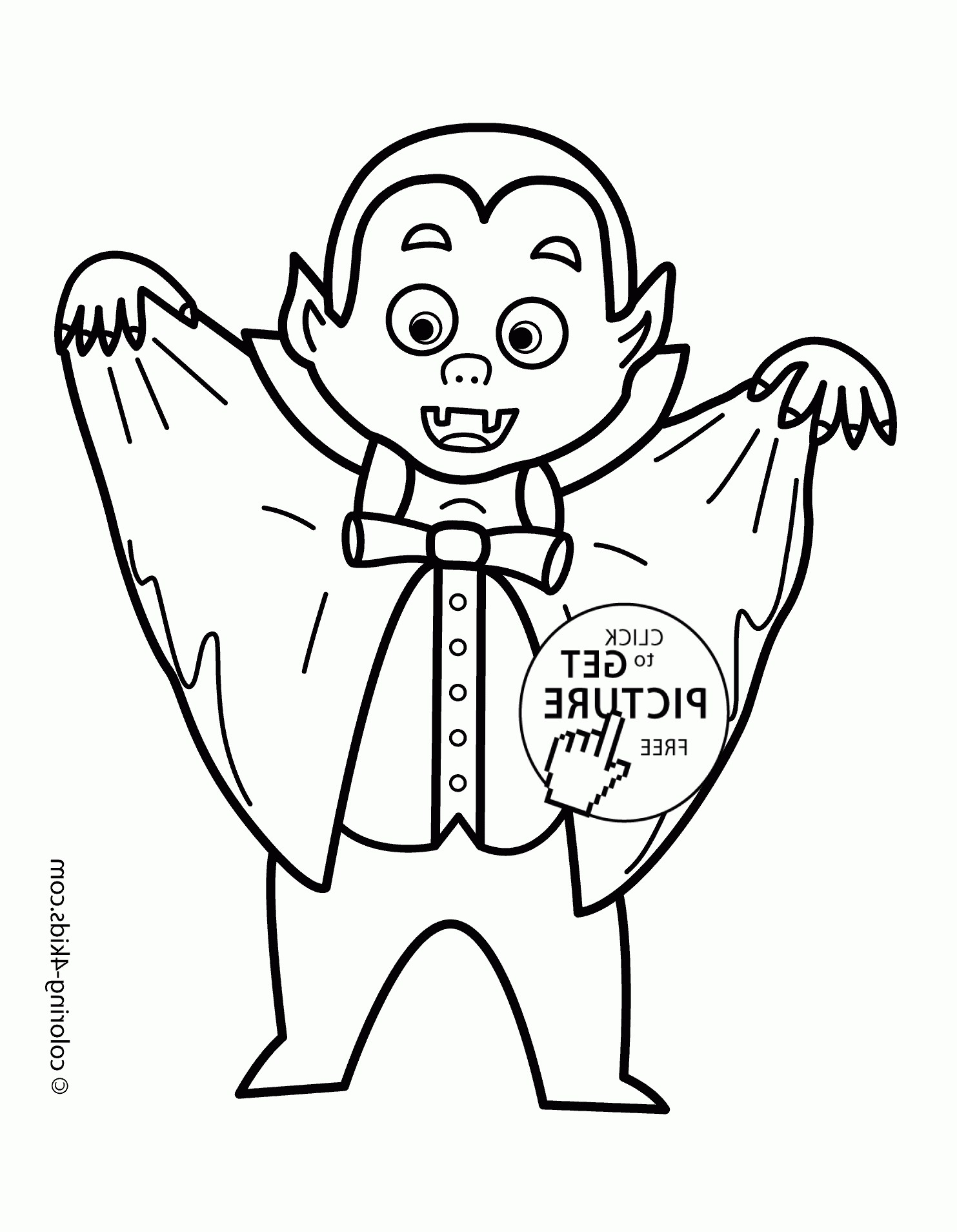 1483x1908 Halloween Vampire Coloring Pages For Kids Best Of Dracula Drawing