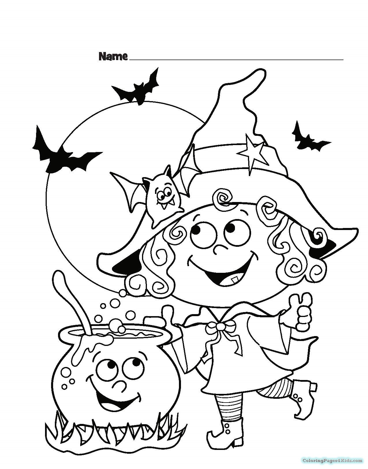 1275x1623 Halloween Witch Coloring Pages Coloring Pages For Kids