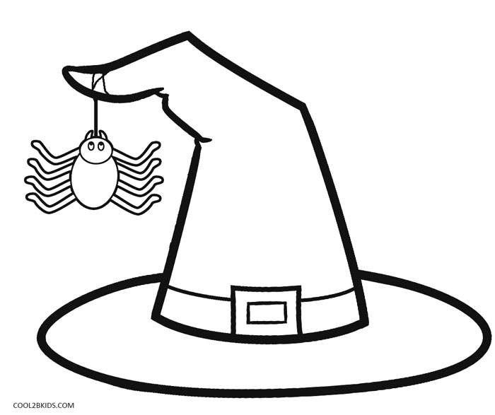 700x587 Witch Hat Coloring Pages