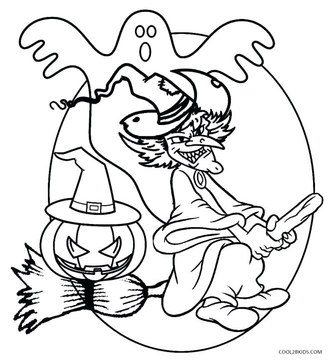 670x727 Halloween Witch Coloring Pages Cute Witch Coloring Pages Pretty