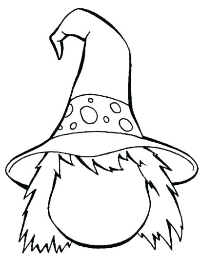 412x534 Witches Coloring Pages