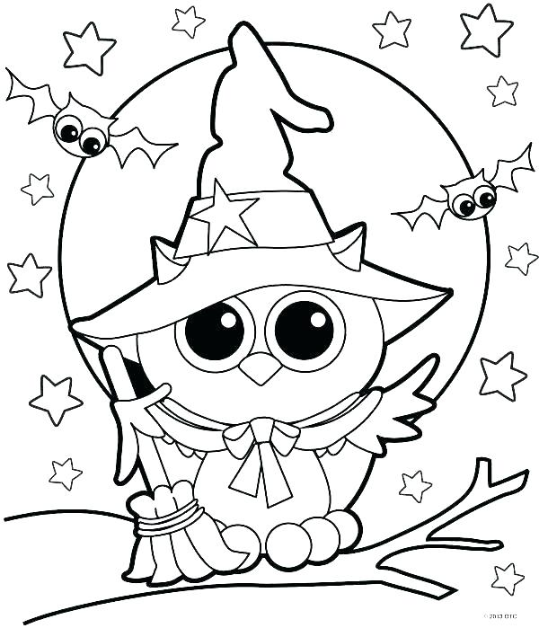 600x699 Coloring Pages Witch
