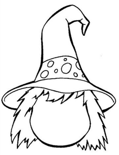412x534 Coloring Pages Of Witches Halloween Witches Coloring Pages Free