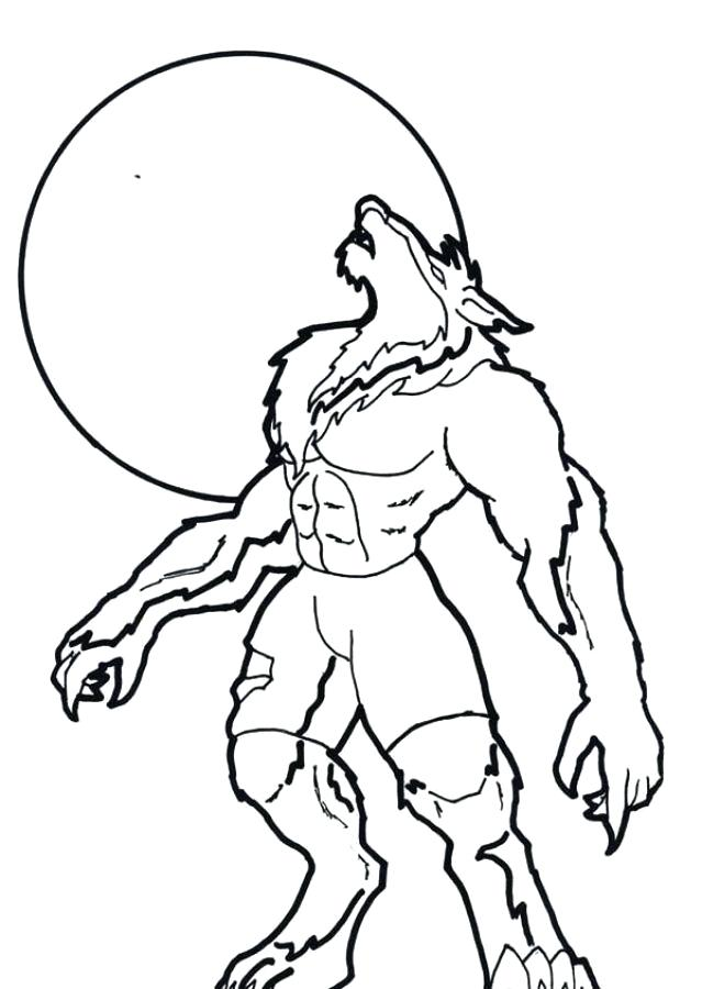 639x900 Werewolf Coloring Pages Werewolf Coloring Pages Werewolf