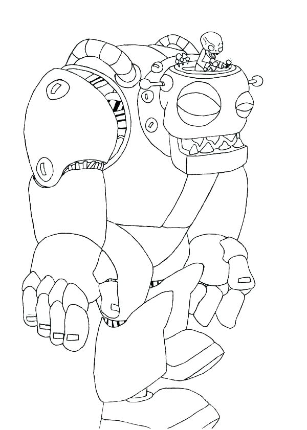 600x841 Plants Vs Zombies Coloring Pictures Coloring Pages Plants Zombie