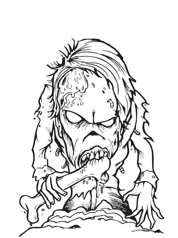 600x801 Zombie Coloring Pages Download Zombie Coloring Page Kids Plants Vs