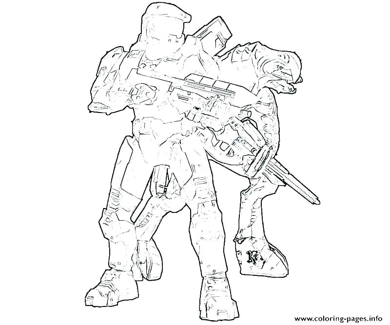 800x667 Exciting Halo Master Chief Coloring Pages Halo Coloring Page Halo