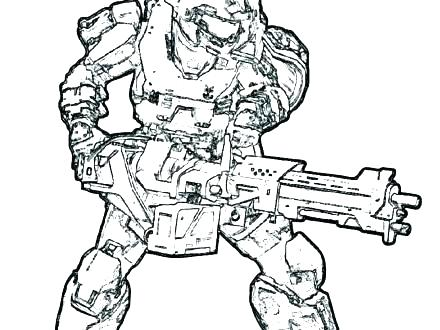 440x330 Halo Coloring Pages Related Post Halo Master Chief Coloring