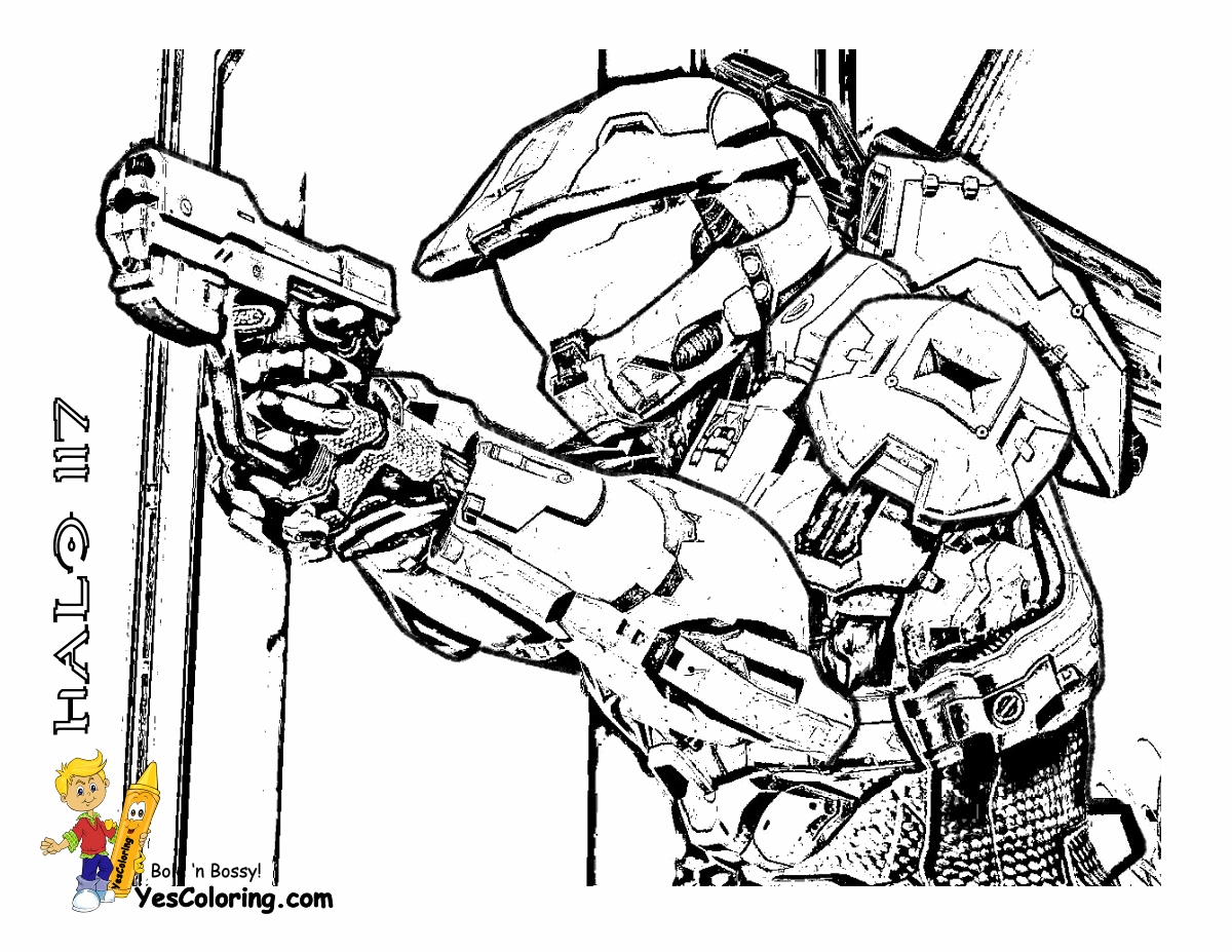 1200x927 Halo Coloring Pages New Fearless Halo Coloring Sheets Halo