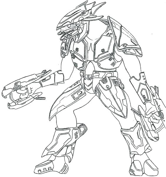564x601 Halo Coloring Pages To Print Halo Coloring Book As Well As Halo