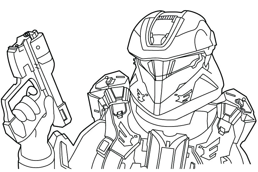 825x552 Halo Coloring Pages