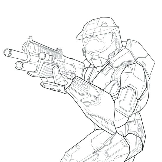 550x550 Halo Coloring Page Halo Coloring Pages Halo Coloring Page Halo