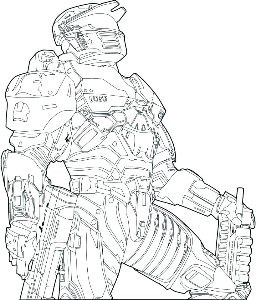 818x960 Halo Coloring Pages Complete Halo Coloring Pages Print Coloring