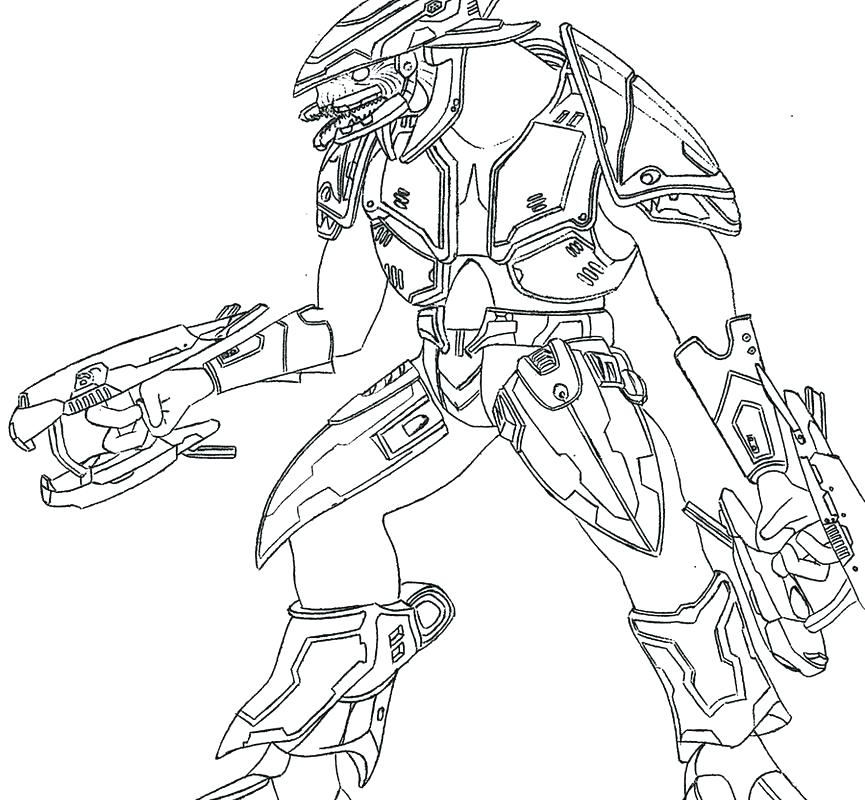 865x800 Halo Coloring Pages Free Halo Coloring Pages
