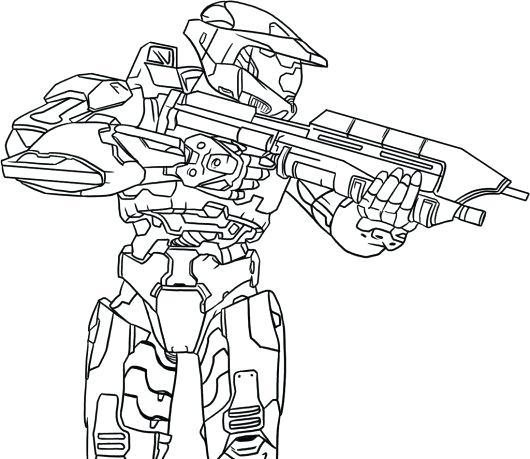 530x459 Halo Para Colorear Printable Halo Battle Coloring Pages Halo