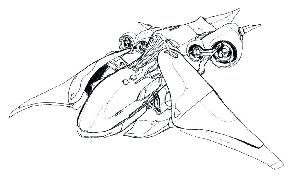 1024x633 Halo Coloring Pages