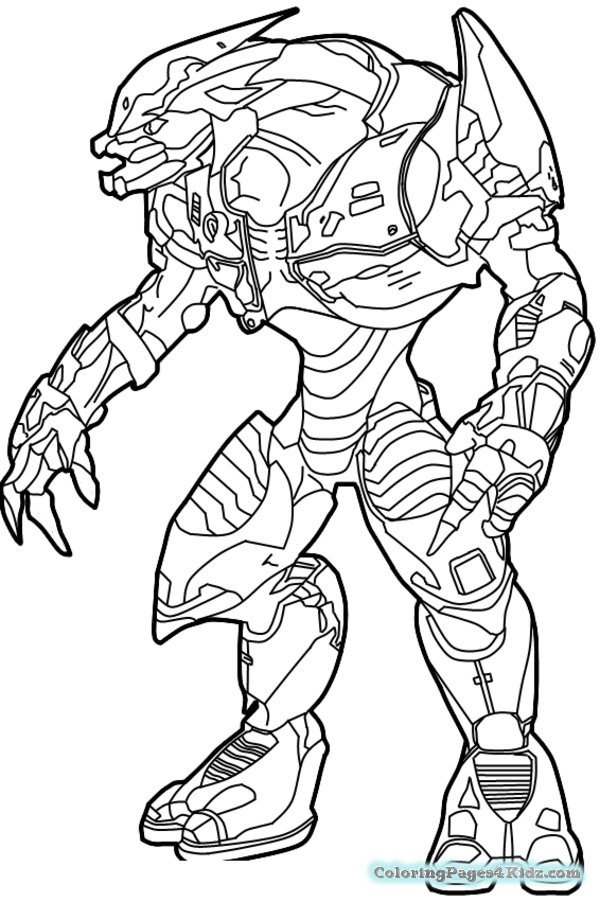 600x902 Halo Coloring Pages Coloring Pages For Kids