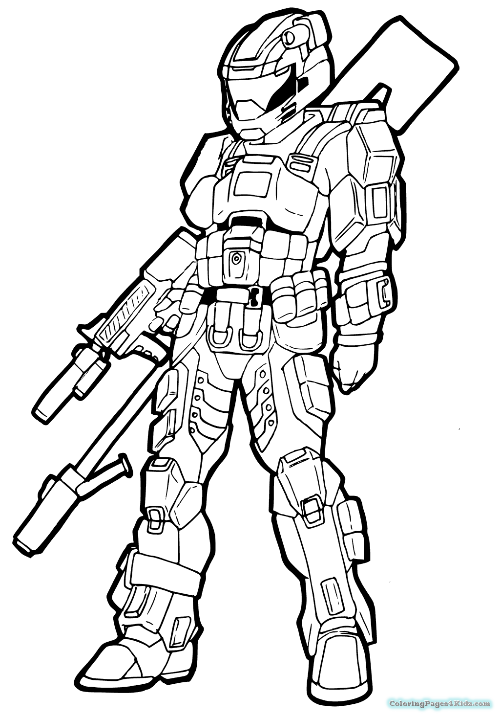 1024x1468 Halo Coloring Pages Coloring Pages For Kids