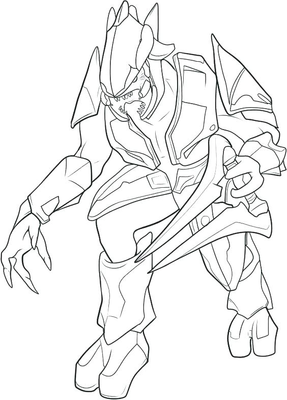 564x784 Halo Coloring Page Halo Coloring Pages And Book Halo Coloring