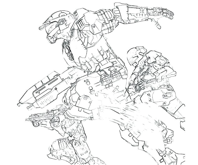 800x667 Halo Coloring Pages To Print Master Chief Coloring Pages Halo