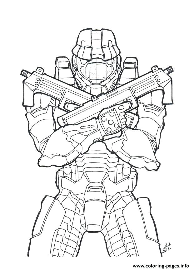 621x866 Halo Pictures To Color Halo Master Chief Coloring Pages Halo