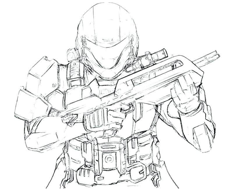 779x650 Exciting Halo Master Chief Coloring Pages Halo Coloring Pages Halo
