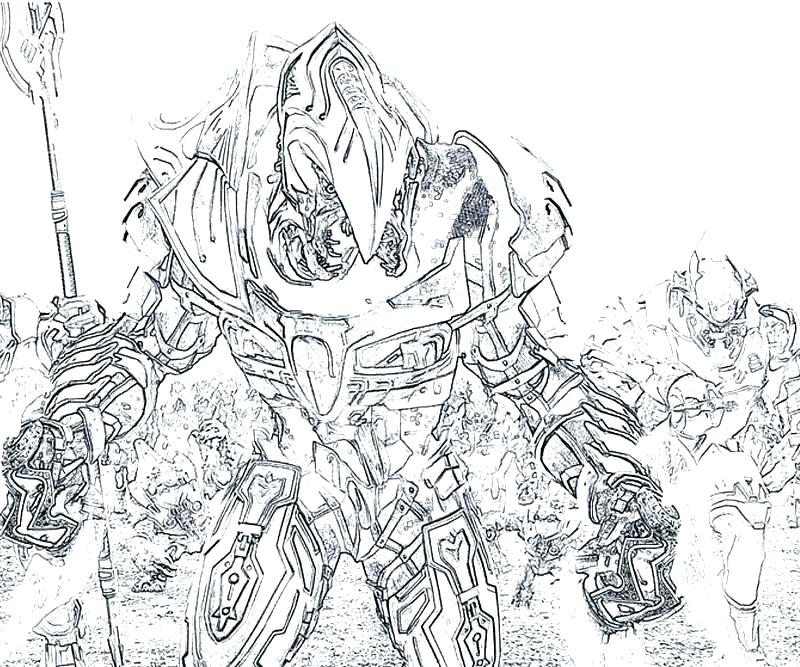Halo 5 Coloring Pages At Getdrawings Com Free For Personal Use