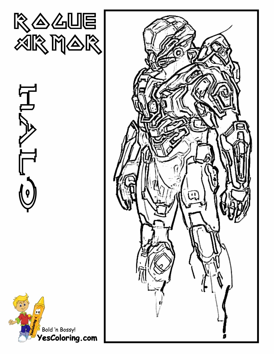 927x1200 Halo Coloring Pages Lovely Halo Master Chief Coloring Pages