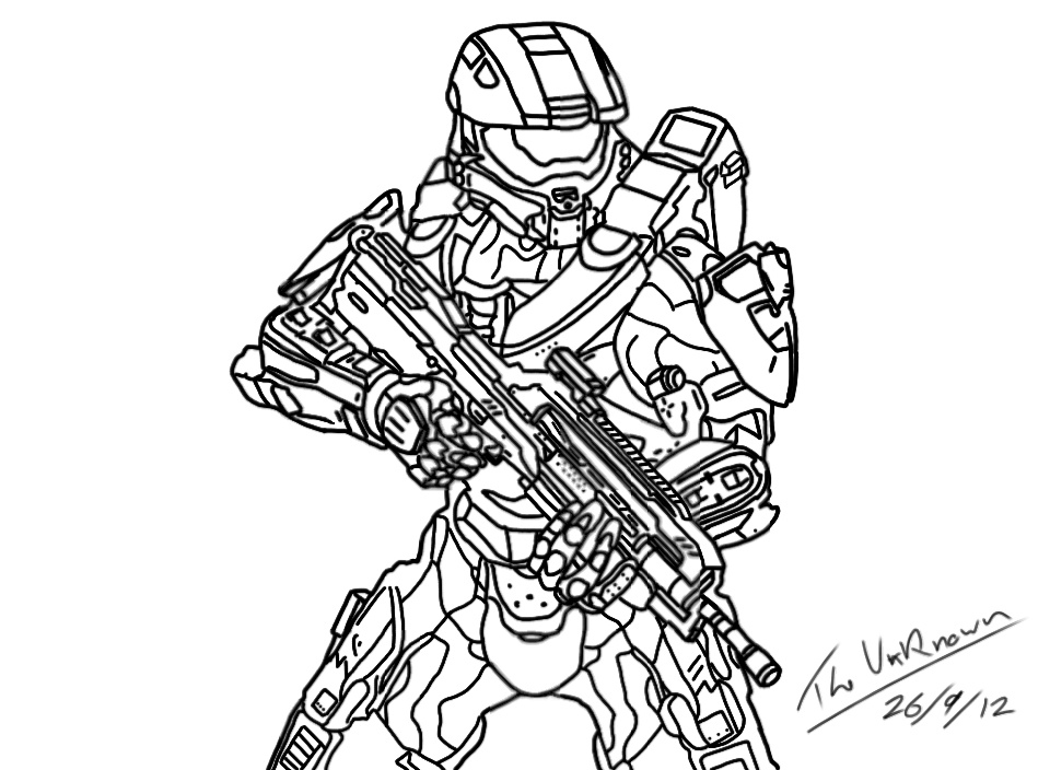 960x704 Halo Coloring Pages Luxury Halo Coloring Pages Printable Halo