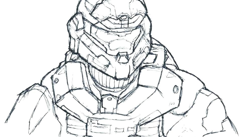 960x544 Halo Coloring Pages To Print Master Chief Coloring Pages Halo