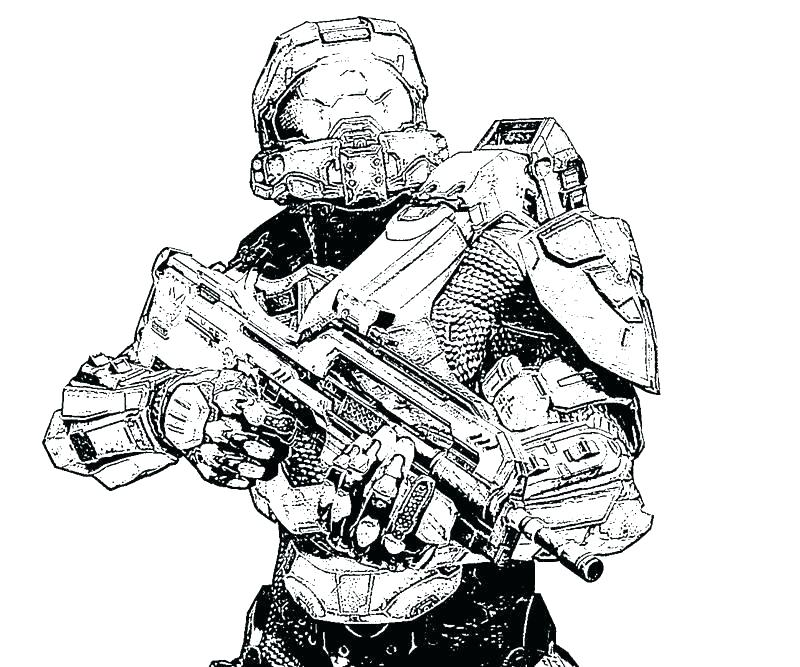 800x667 Halo Coloring Pages