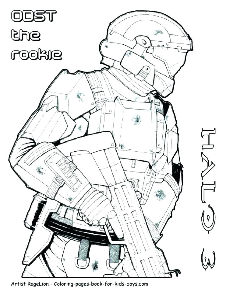 742x960 Halo Master Chief Coloring Pages Deepart