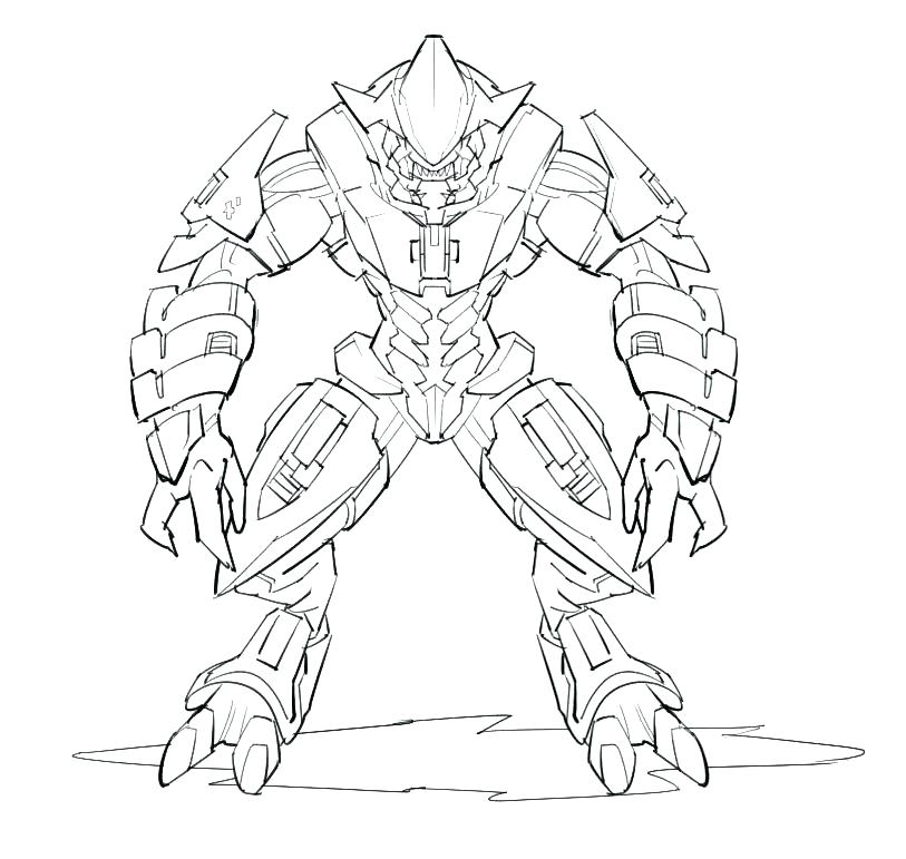 813x771 Halo Coloring Page O Reach Coloring Book O Coloring Pages To Print