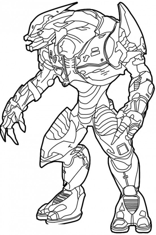 550x826 Halo Coloring Pages Picture Halo!!!!
