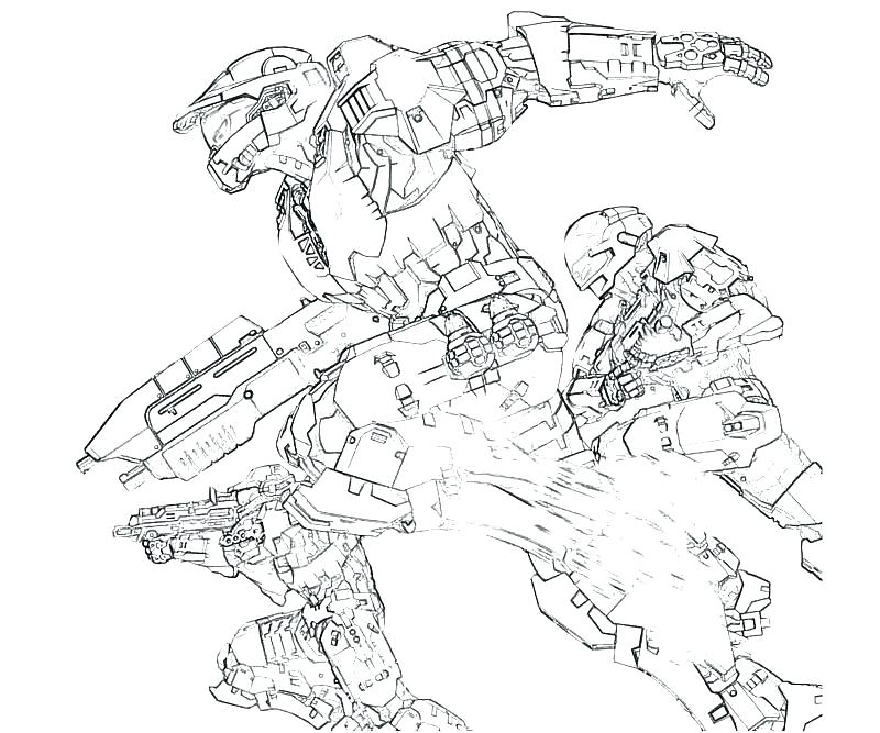 800x667 Halo Coloring Pictures Halo Reach Coloring Pages Halo Coloring