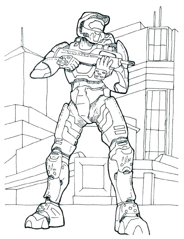 600x776 Spartan Coloring Pages Halo Coloring Pages Halo Coloring Pages