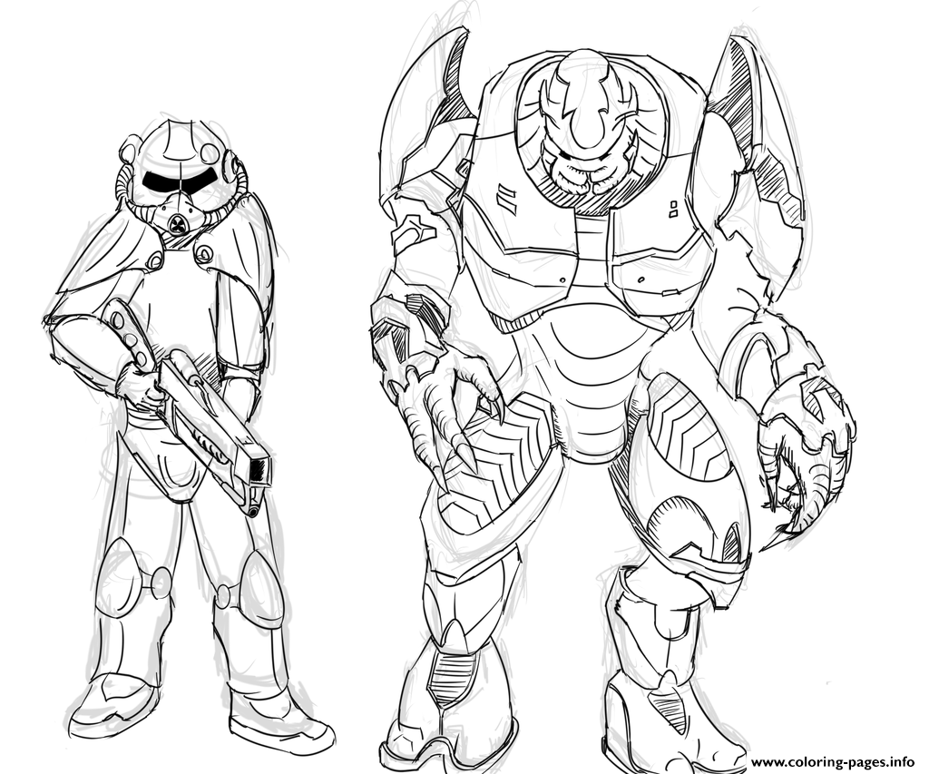 1024x853 Halo Coloring Pages Free Printable Best Of Halo