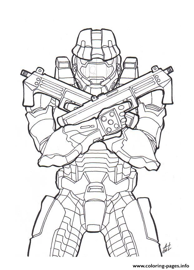 621x866 Halo Color Coloring Pages Printable