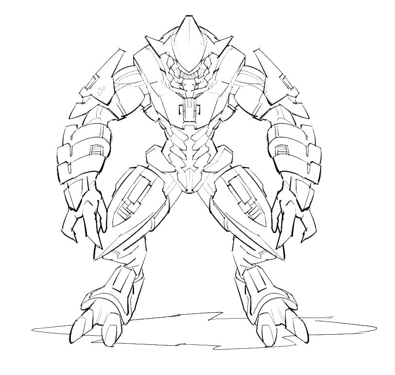 813x771 Halo Coloring Pages To Print Halo Coloring Pages Halo Coloring