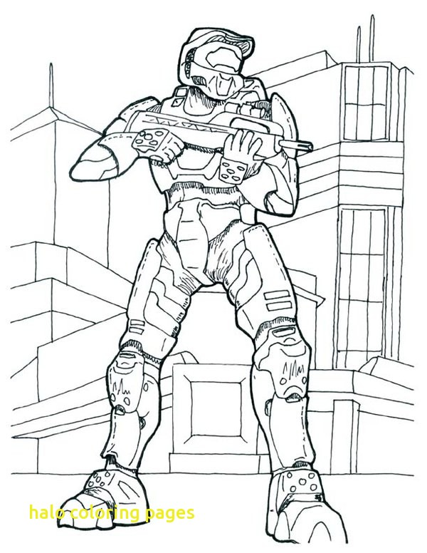 600x776 Halo Coloring Pages With Free Printable Halo Coloring Pages