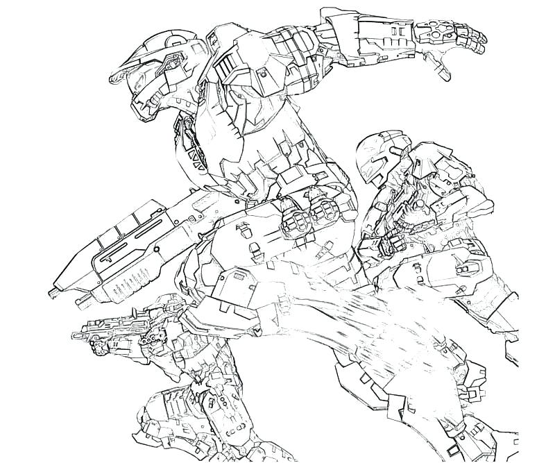 800x667 Printable Halo Coloring Pages For Kids Halo Coloring Pages Halo