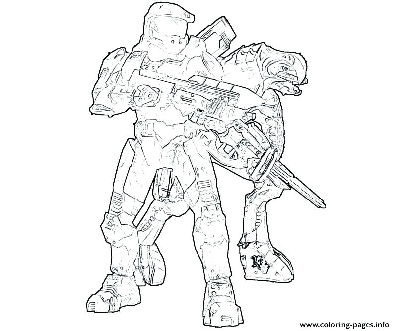 800x667 Halo Coloring Book Also Halo Coloring Pages Printable