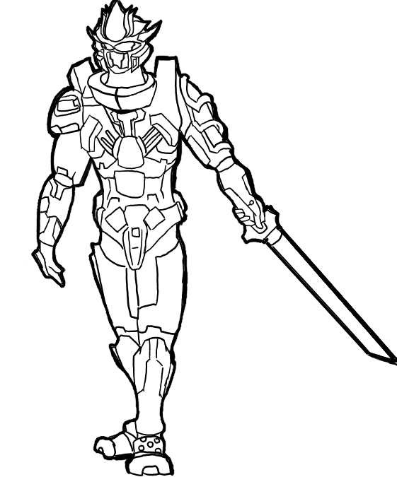 561x675 Halo Coloring Pages