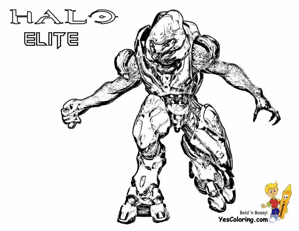 1024x791 Halo Elite Coloring Pages Get Bubbles