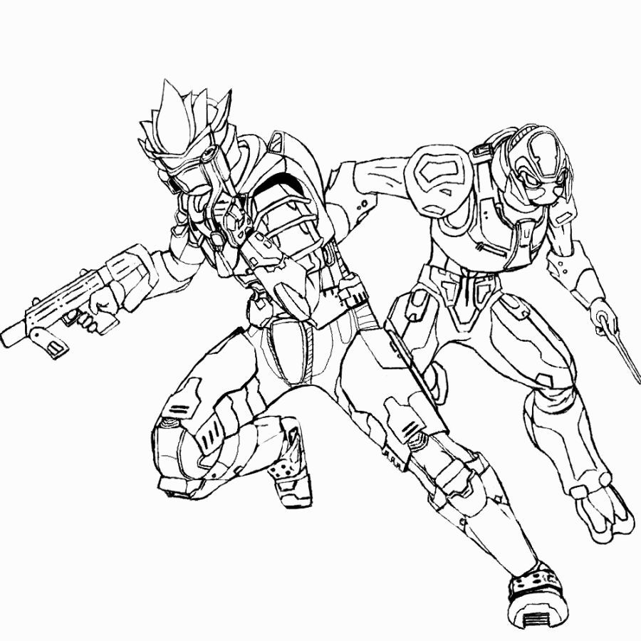 900x900 Halo Coloring Pages Coloring Pages